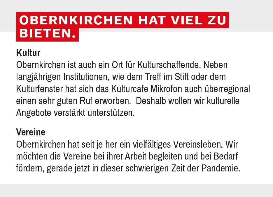 Obernkirchen hat viel zu bieten